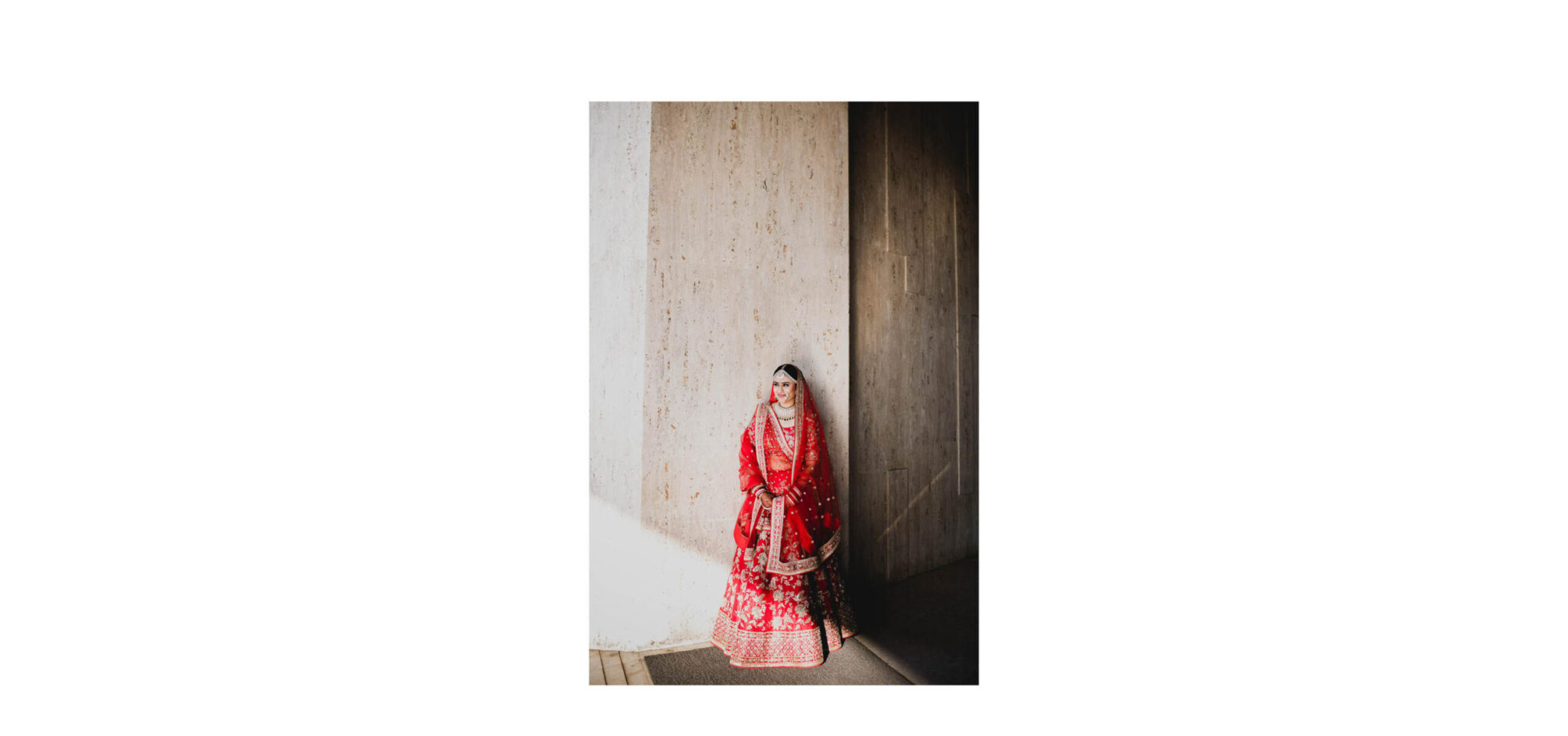 Indian bride photograph